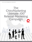 Complete system for leveraging centers of influence for referrals.